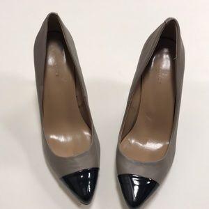 Ann Taylor Colorblock Heel Pump